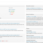 WordPress 3.2 DashBoard